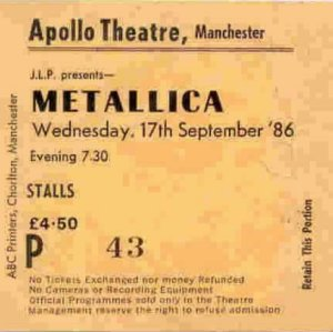 Metallica1986_Ticket Stubb