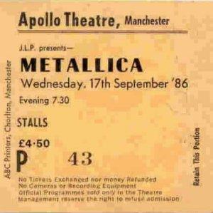Metallica1986_Ticket Stubb