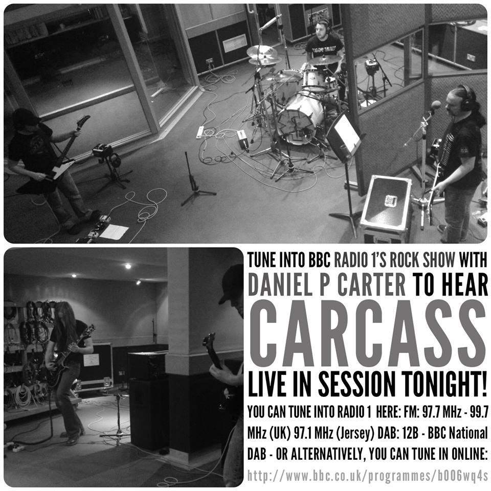 Carcass BBC Sessions 2014
