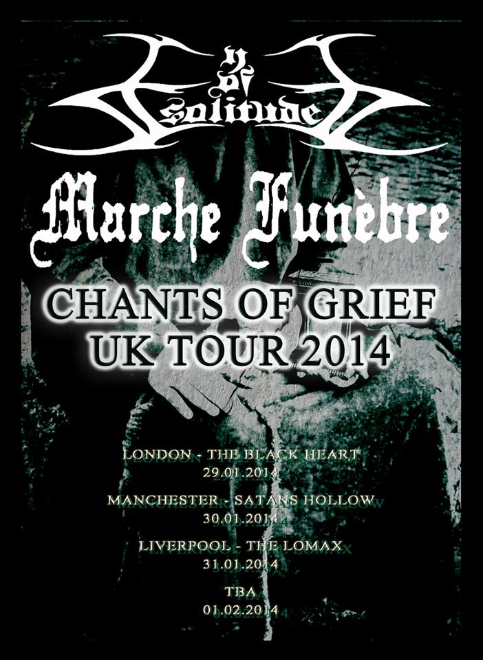 Eye of Solitude Tour Flyer