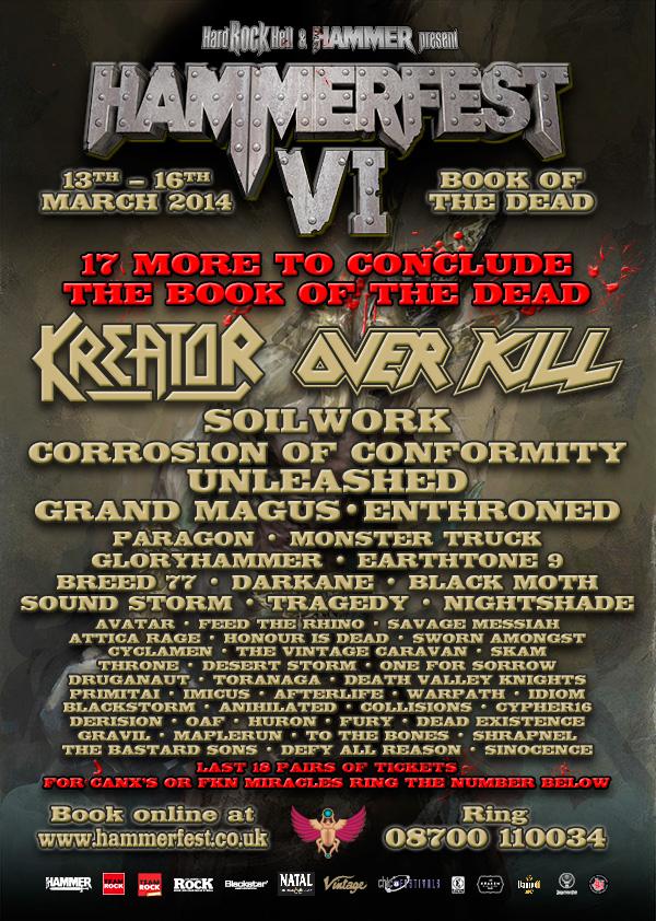 Hammerfest 2014 Flyer