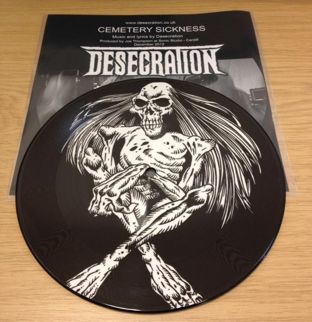 Desecration - Cemetery Sickness 7inch