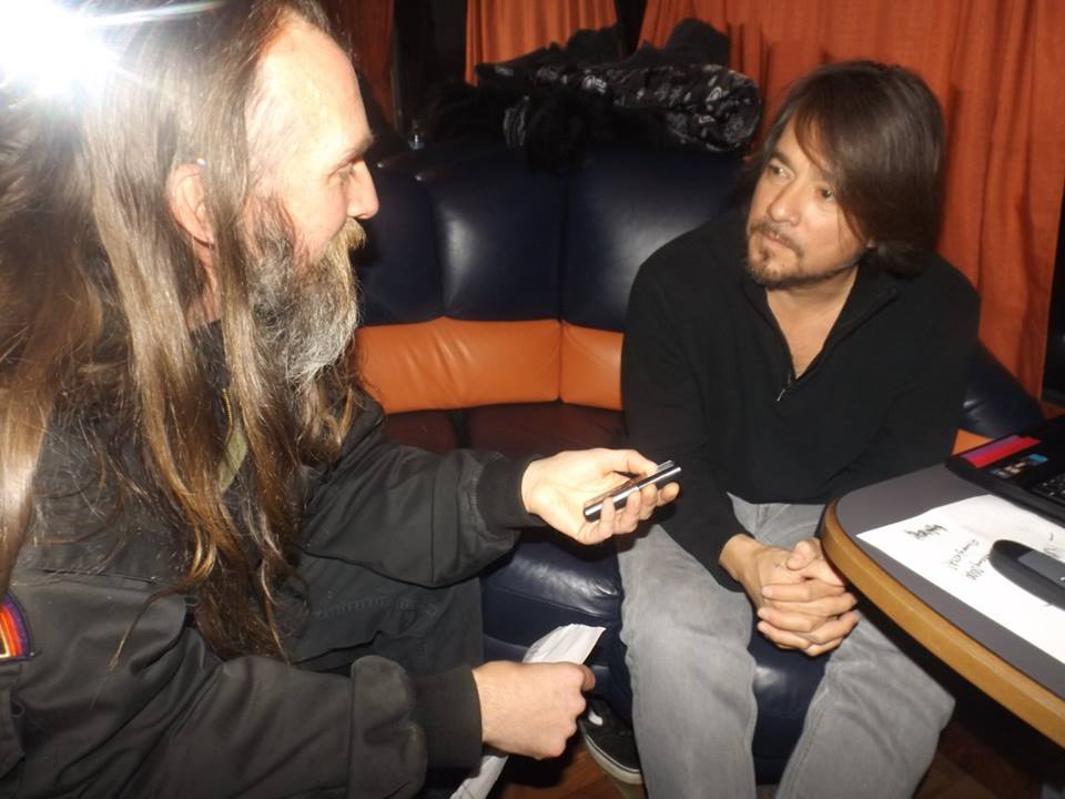 Mark Interviewing John Garcia