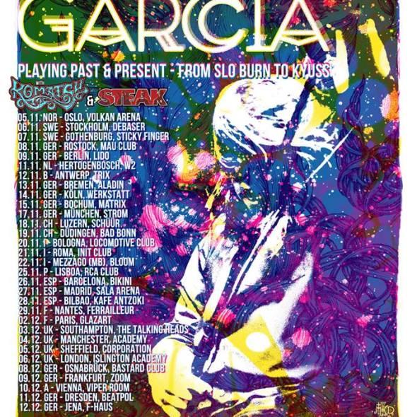 John Garcia Tour Flyer