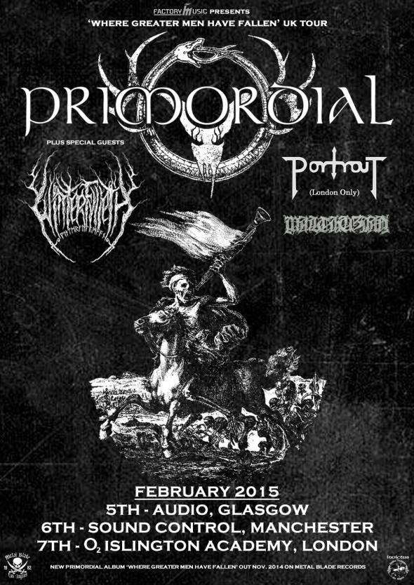 Primordial UK Tour